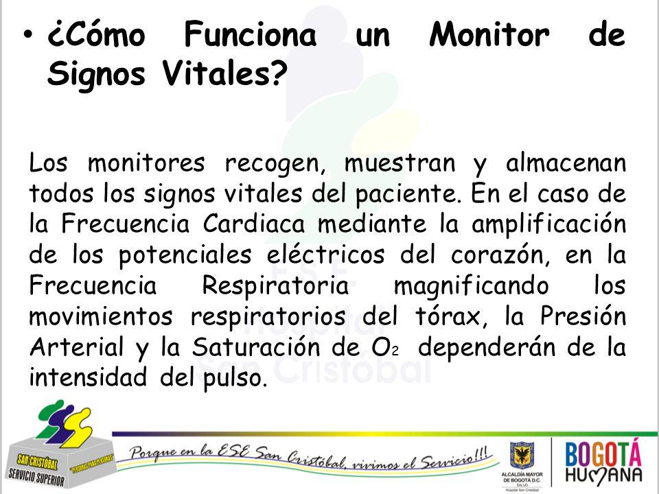 ¿Cómo Funciona un Monitor de Signos Vitales
