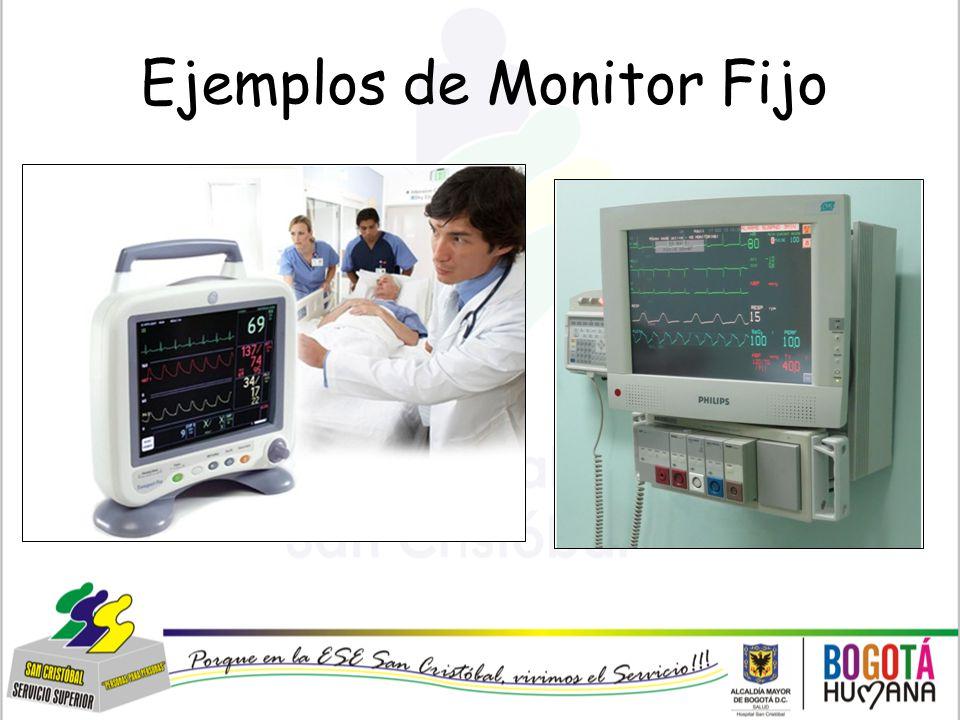 Ejemplos de Monitor Fijo