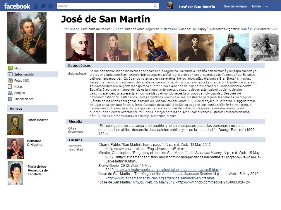 a biography of jose de san martin the knight of the andes There are no critic reviews yet for san martín: el cruce de los andes keep checking rotten tomatoes for updates audience reviews.