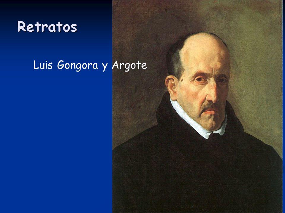 Retratos Luis Gongora y Argote
