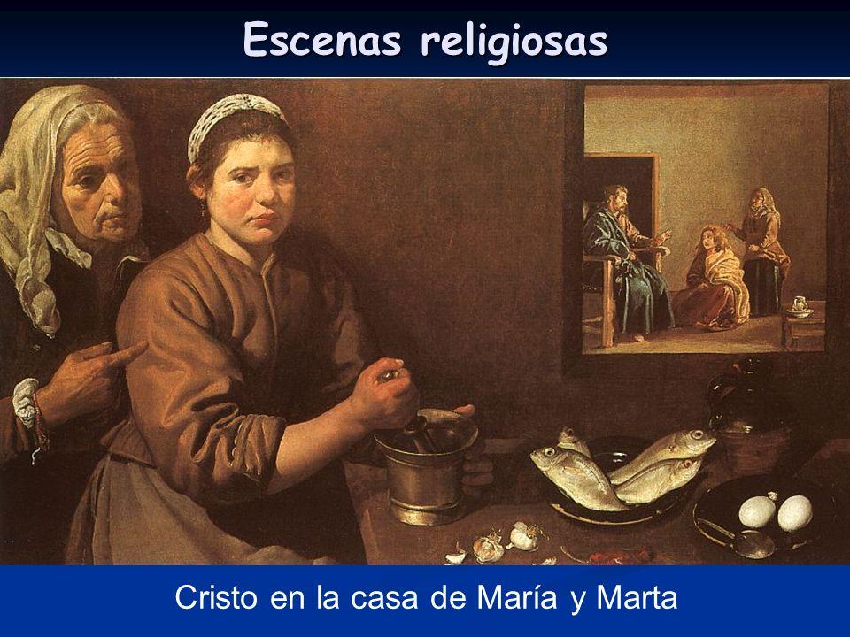 Escenas religiosas Cristo en la casa de María y Marta