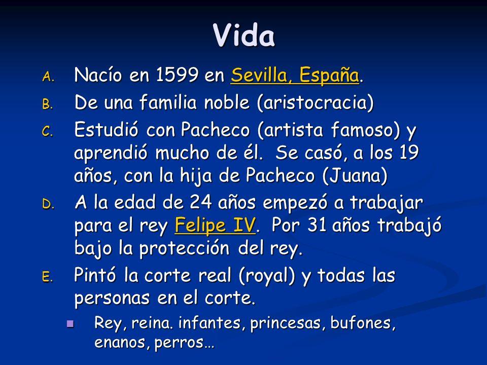 Vida Nacío en 1599 en Sevilla, España.