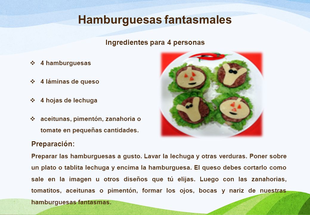 Recetas para cocinar con los bajitos m gicos ppt video for Ingredientes para cocinar