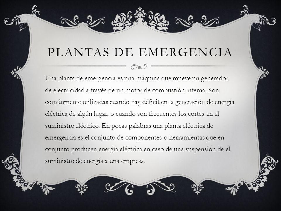 Mtto de plantas el ctricas de emergencia recuperaci n de for Cuando es fuera de lugar futbol