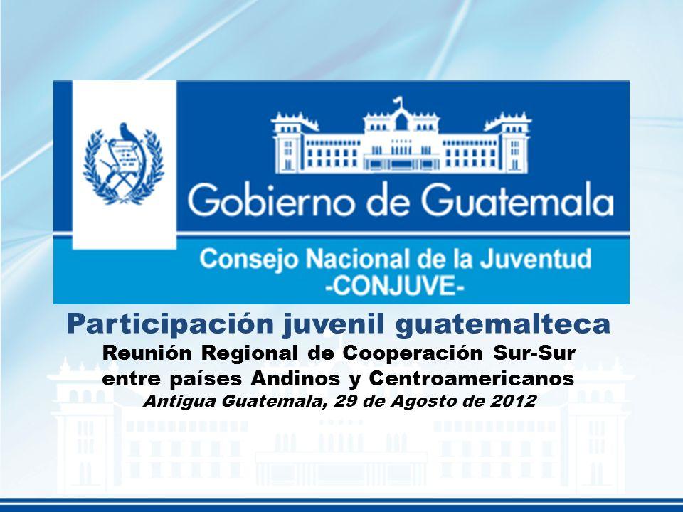 Participación juvenil guatemalteca