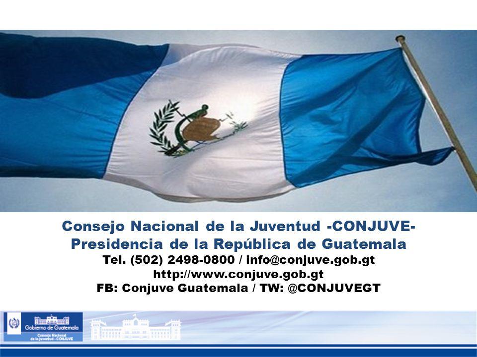 Consejo Nacional de la Juventud -CONJUVE-