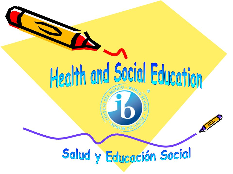Health and Social Education Salud y Educación Social