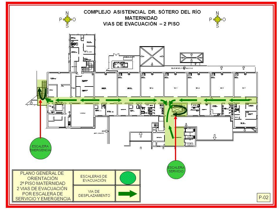 Complejo asistencial dr s tero del r o maternidad ppt - Orientacion de un piso ...