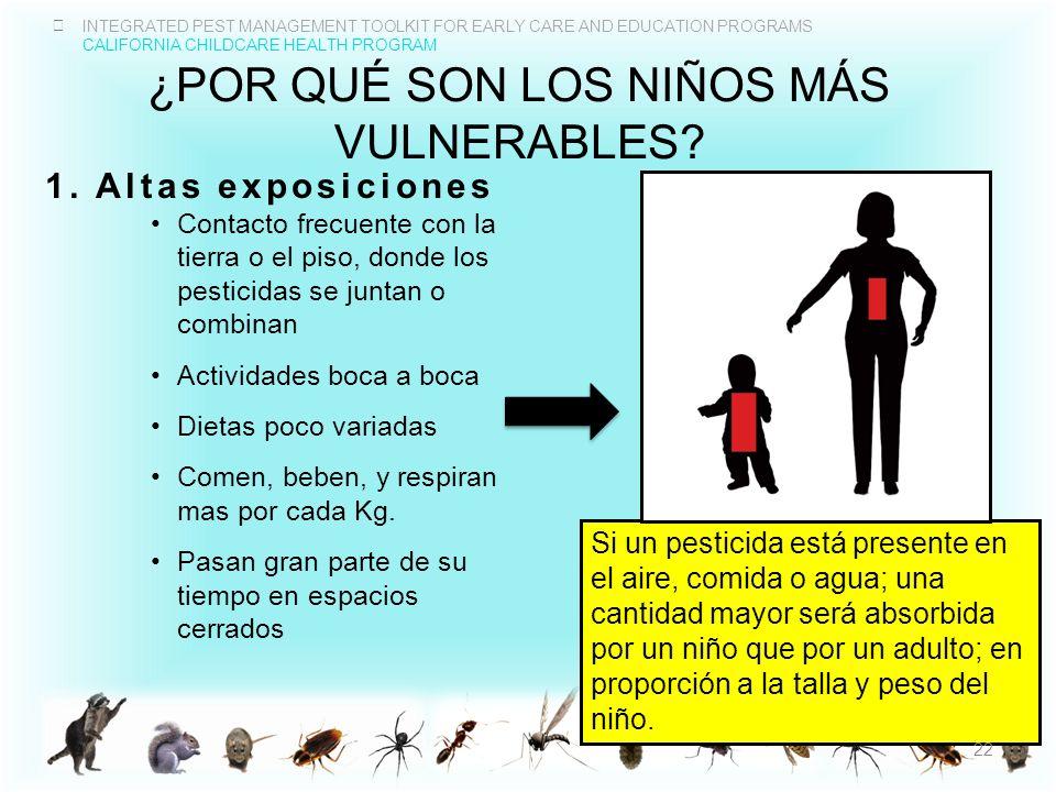 ¿Por qué son los niños mÁs vulnerables