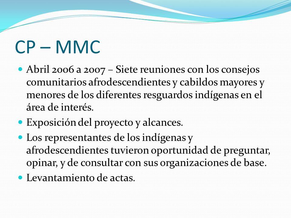 CP – MMC