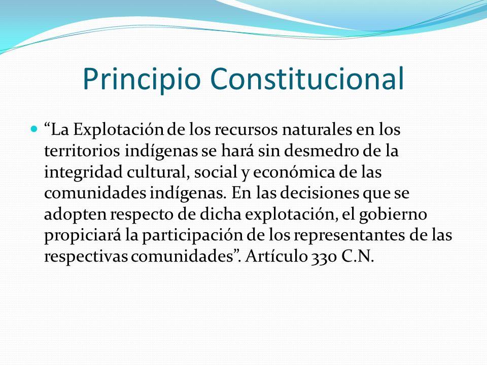 Principio Constitucional