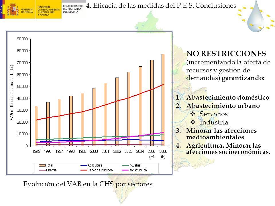 4. Eficacia de las medidas del P.E.S. Conclusiones
