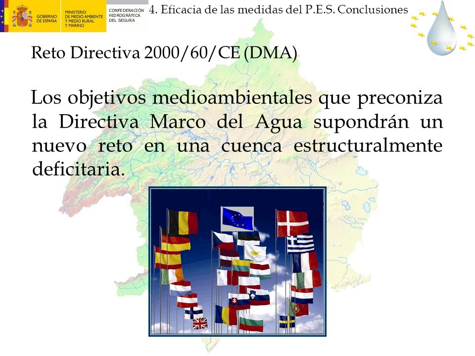 Reto Directiva 2000/60/CE (DMA)
