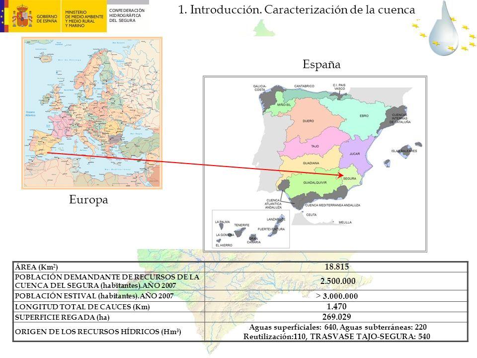 1. Introducción. Caracterización de la cuenca