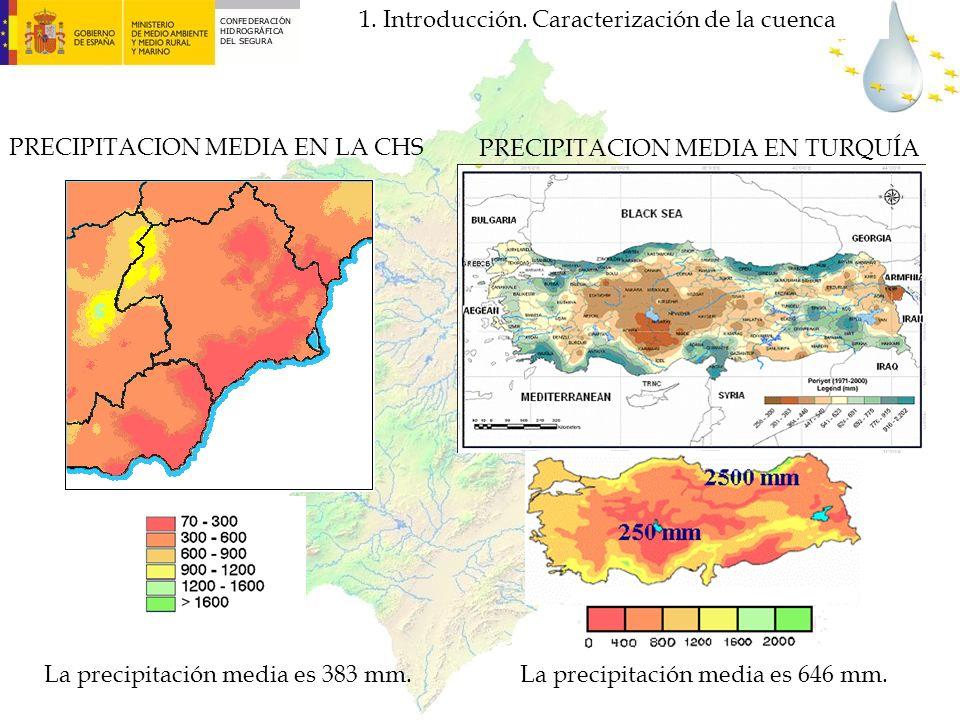 PRECIPITACION MEDIA EN TURQUÍA