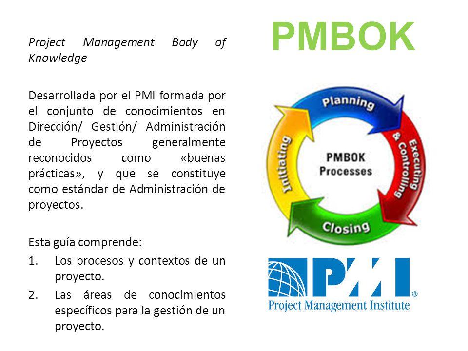 Gesti n de proyectos pmbok ppt video online descargar for Ejemplo proyecto completo pmbok