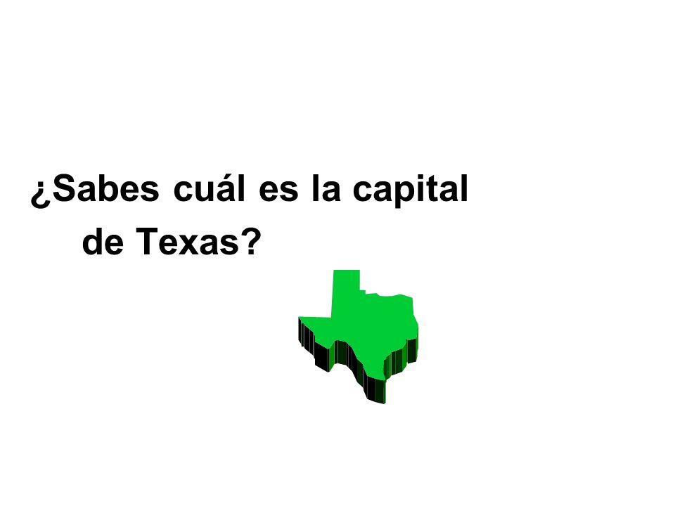 ¿Sabes cuál es la capital