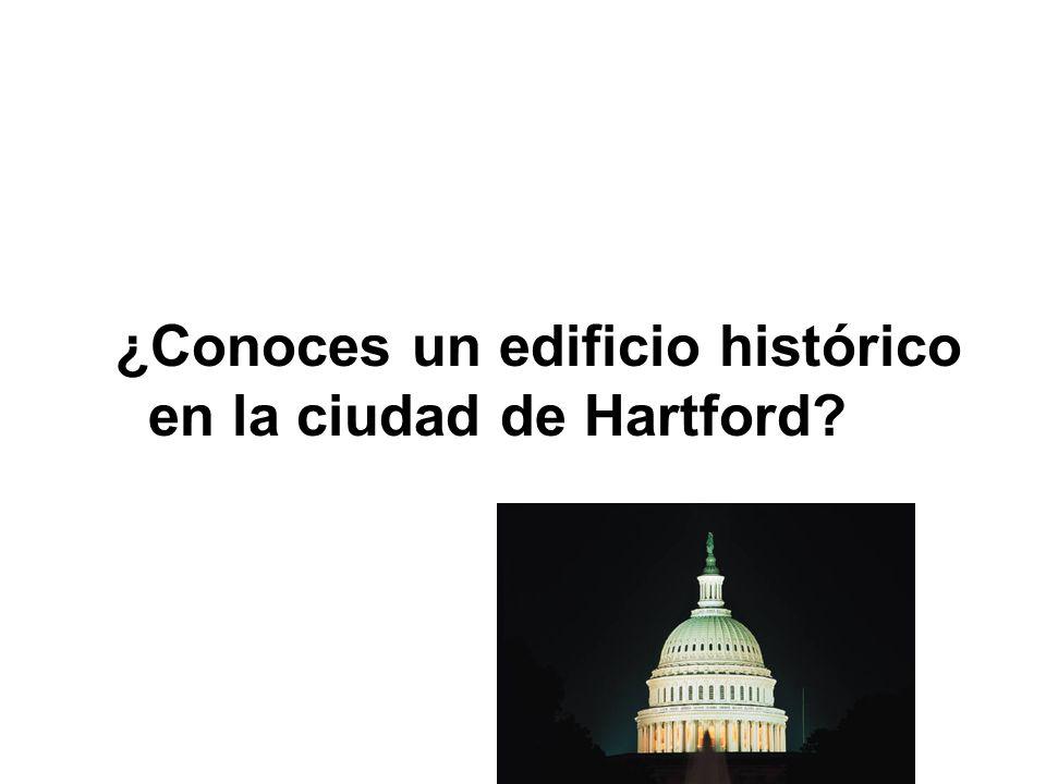 ¿Conoces un edificio histórico en la ciudad de Hartford