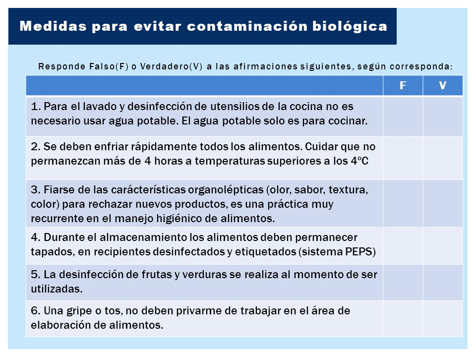 Manejo higi nico de alimentos ppt video online descargar for Medidas para cocinar