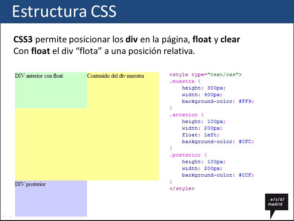 Css estructura ppt descargar - Css div float ...