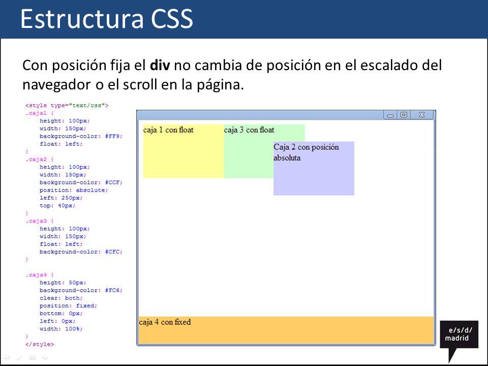 Css estructura ppt descargar - Html scrollable div ...