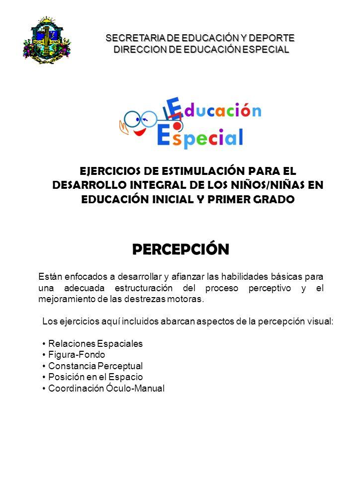 DIRECCION DE EDUCACIÓN ESPECIAL