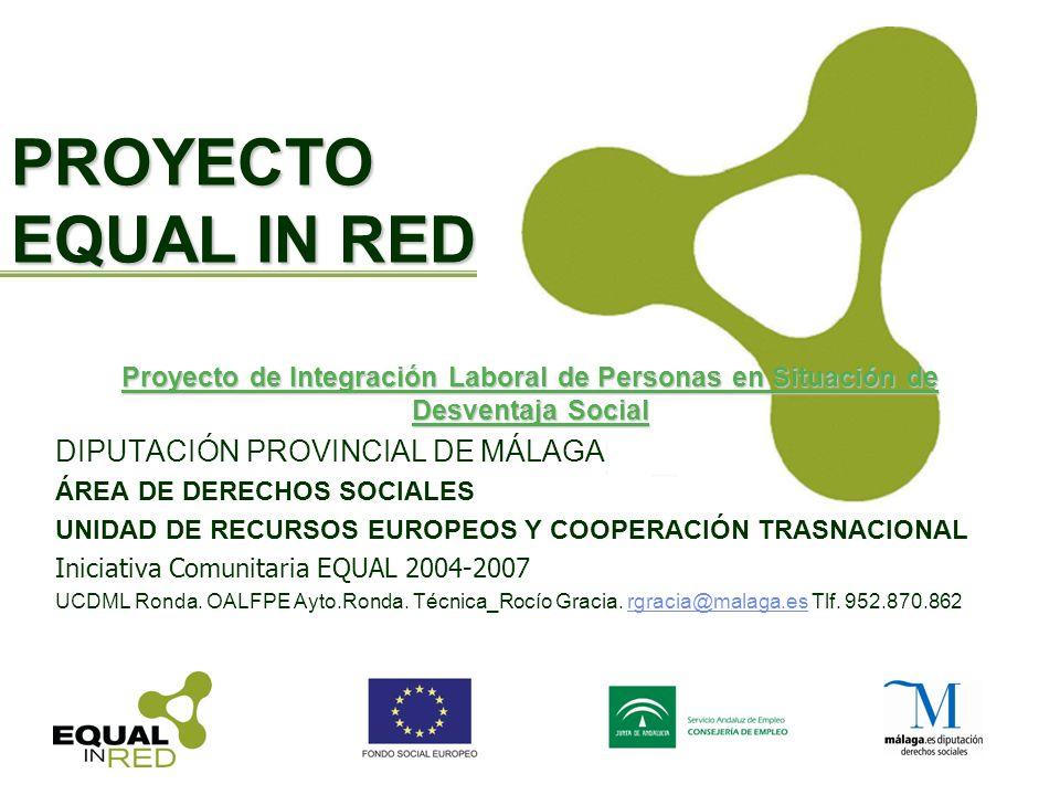 PROYECTO EQUAL IN RED DIPUTACIÓN PROVINCIAL DE MÁLAGA