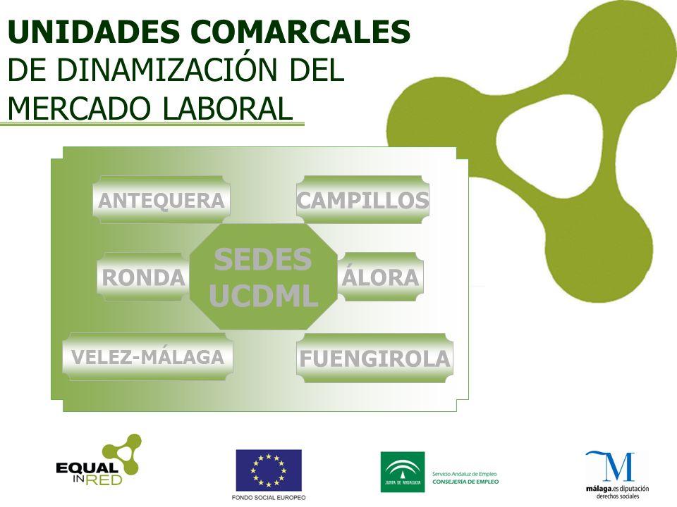 UNIDADES COMARCALES DE DINAMIZACIÓN DEL MERCADO LABORAL