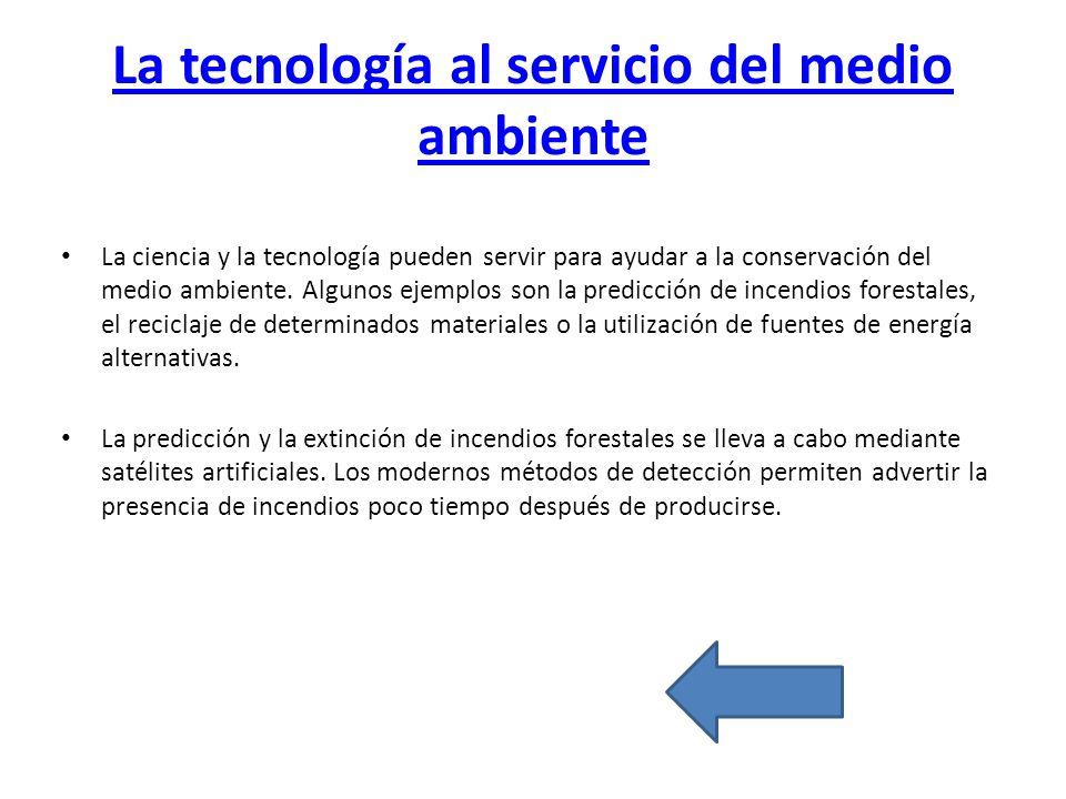 La Tecnología Al Servicio Del Beso: CONTENIDOS INTRODUCCION IMPACTO AMBIENTAL DE LA TECNOLOGIA