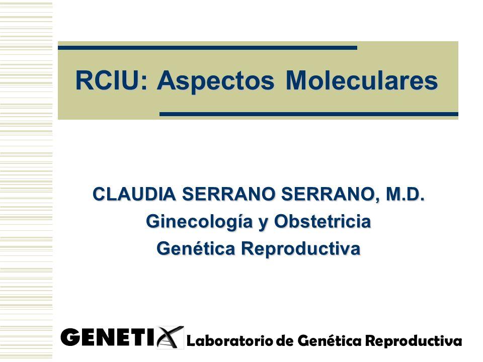 RCIU: Aspectos Moleculares