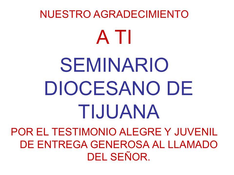 SEMINARIO DIOCESANO DE TIJUANA