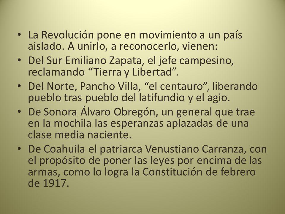 La Revolución pone en movimiento a un país aislado