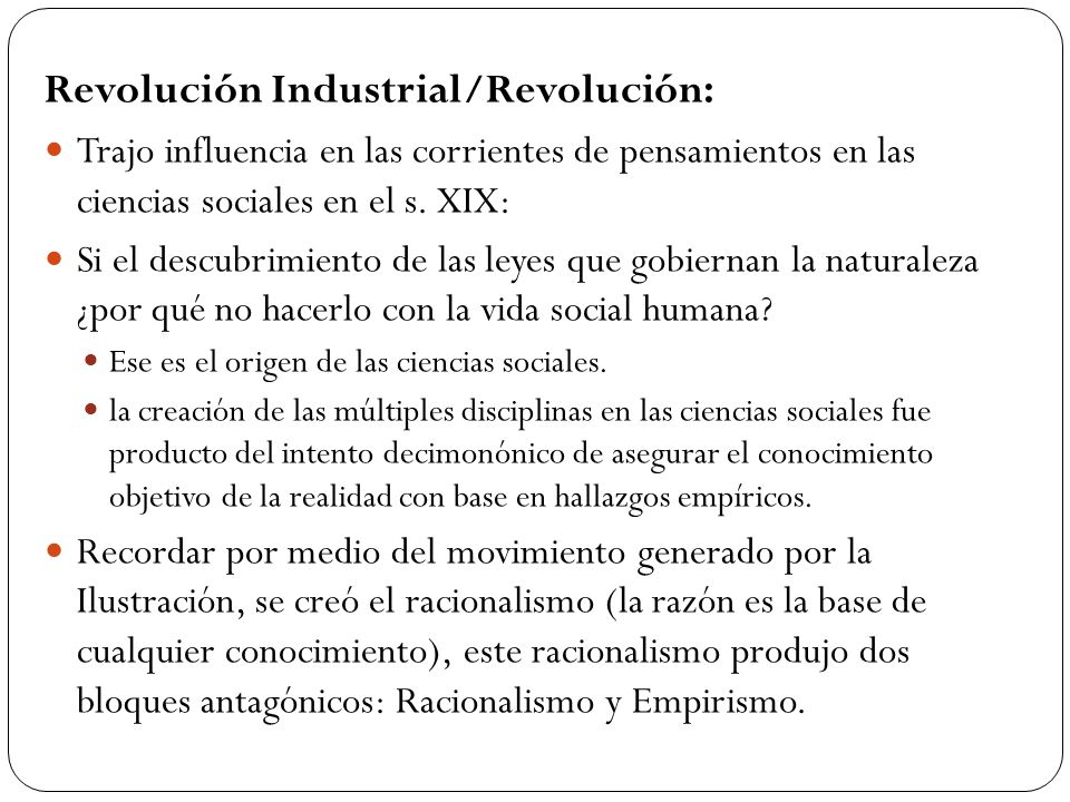 Revolución Industrial/Revolución: