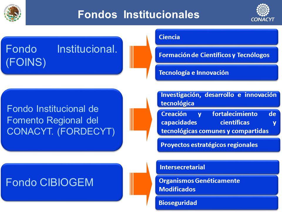 Fondos Institucionales
