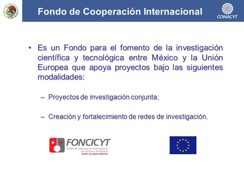 Fondo de Cooperación Internacional