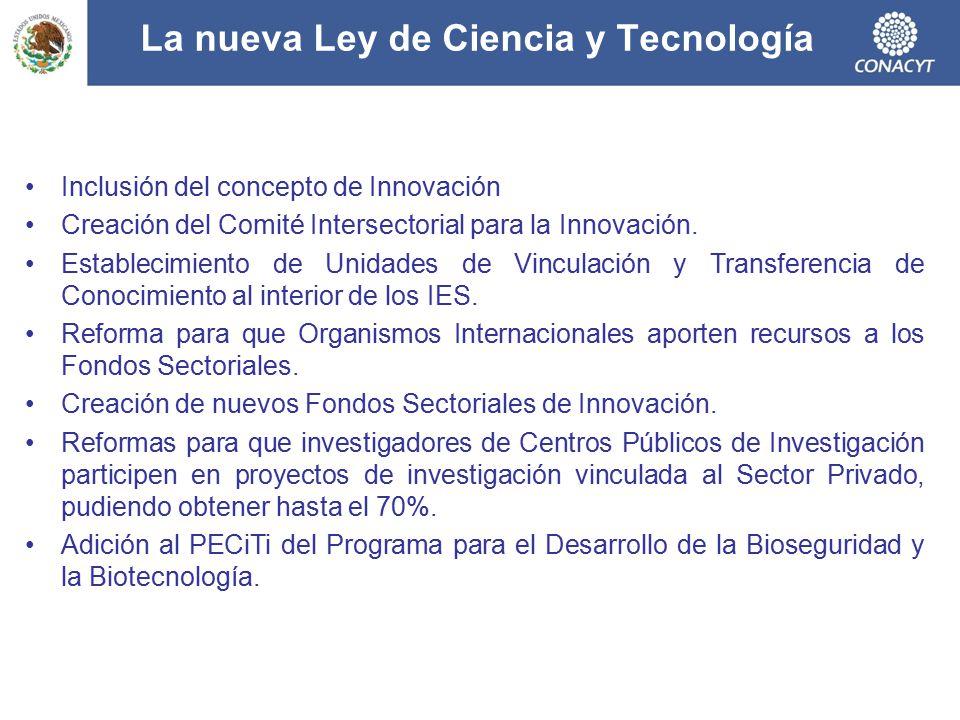 La nueva Ley de Ciencia y Tecnología