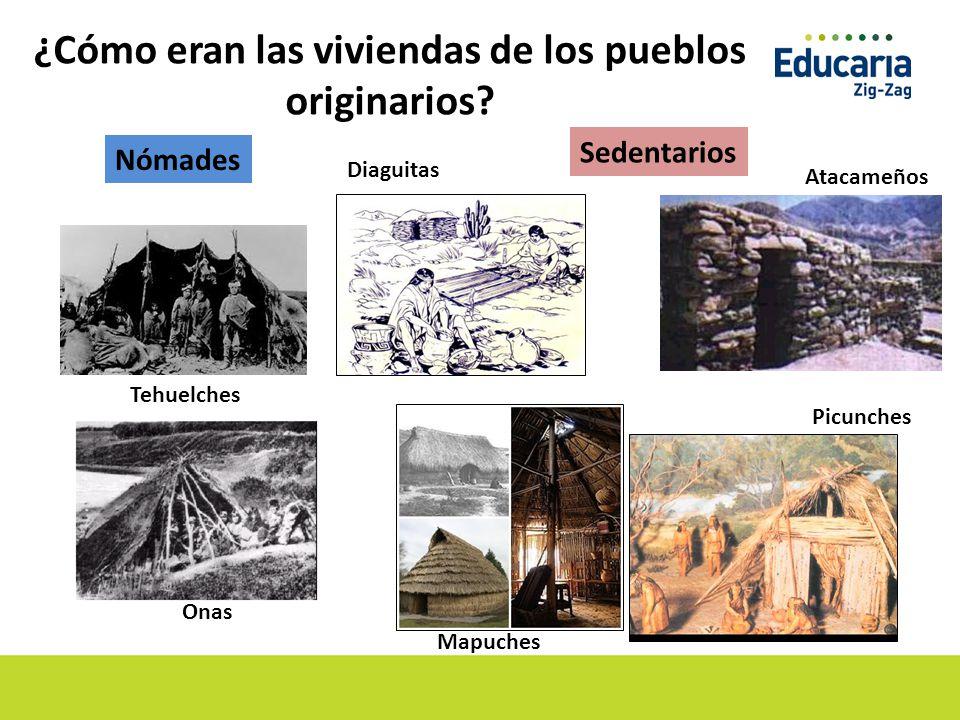 ¿Cómo eran las viviendas de los pueblos originarios