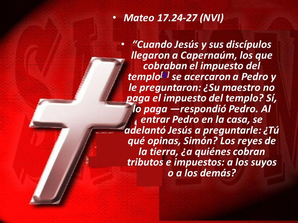 Mateo 17.24-27 (NVI)