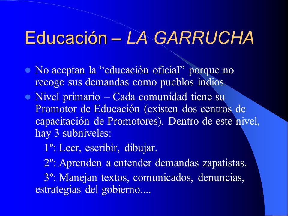Educación – LA GARRUCHA