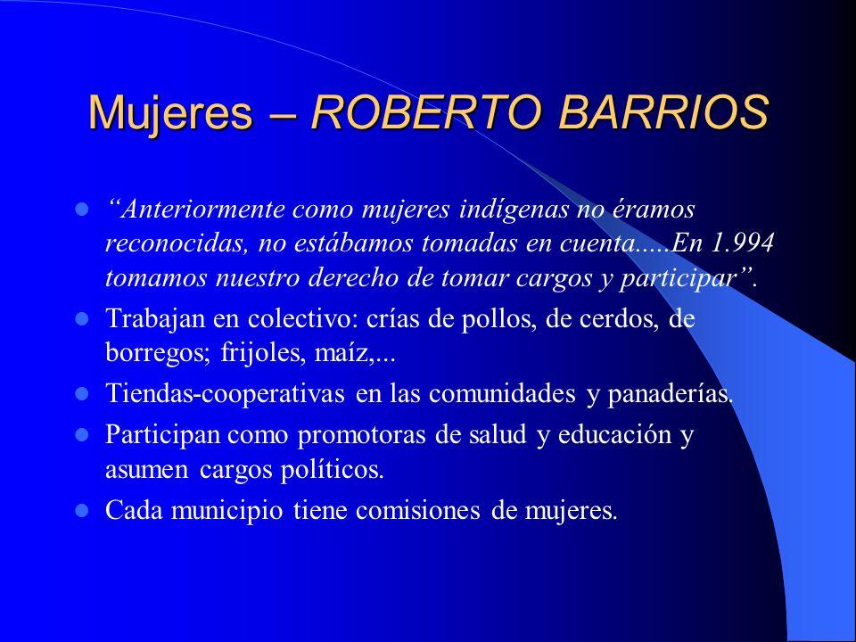 Mujeres – ROBERTO BARRIOS