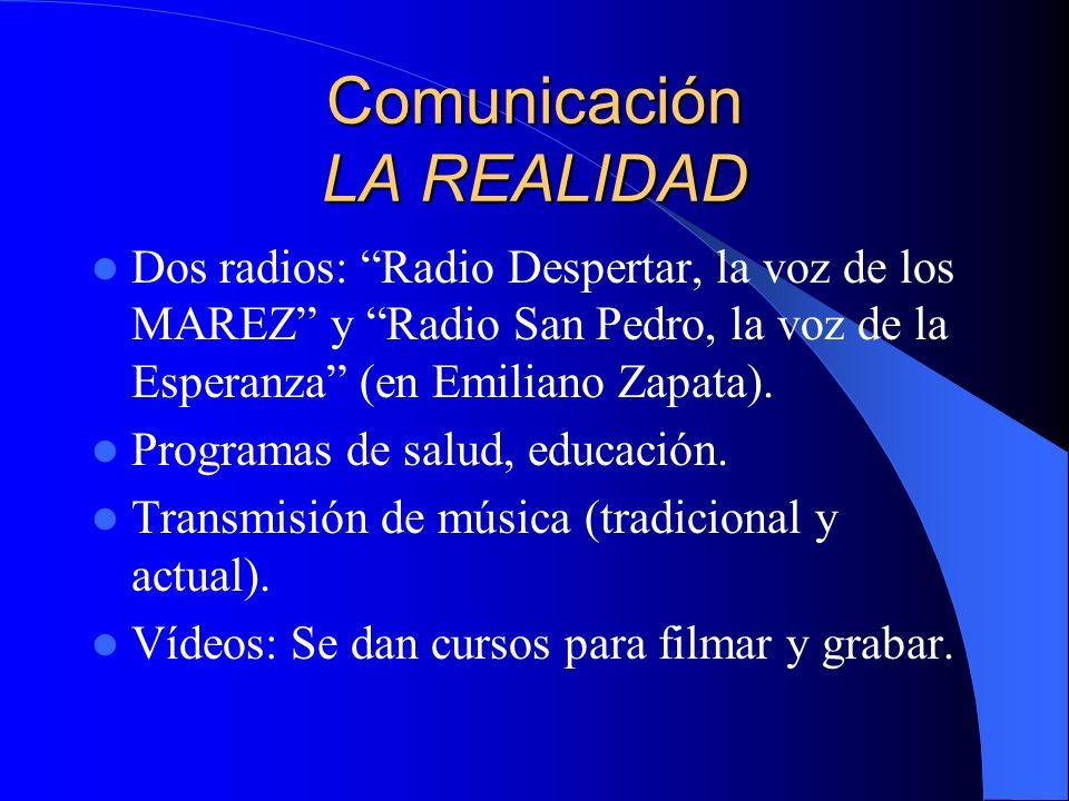 Comunicación LA REALIDAD