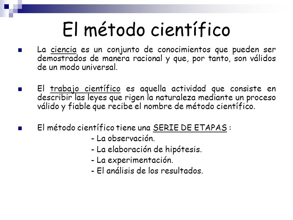 Medida y m todo cient fico ppt video online descargar for En que consiste el metodo cientifico