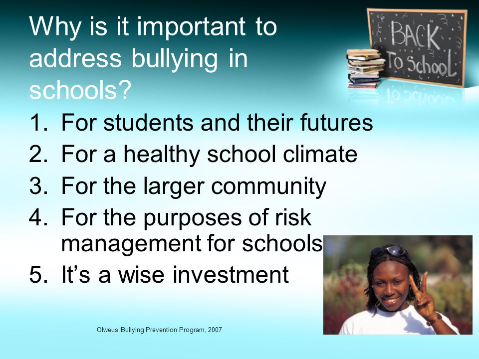 """why anti bullying laws dont work Anti-bullying programs: do they help or hurt student ambassador: in the same article, the author elaborates on why the anti-bullying programs don't work """"."""