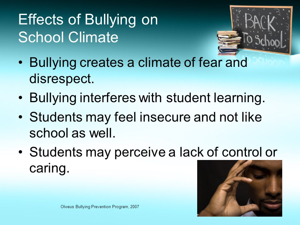 bullying affects on cognitive development Bullying is a common experience for many that can interfere with their social and emotional development  leave him alone may have a surprising effect.