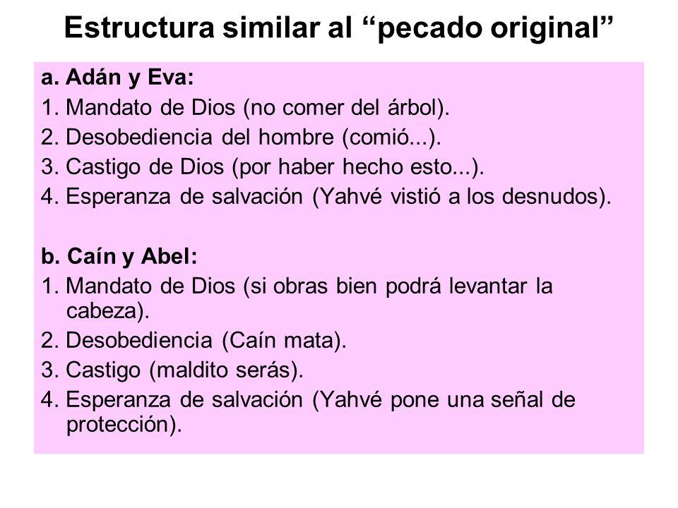 Estructura similar al pecado original