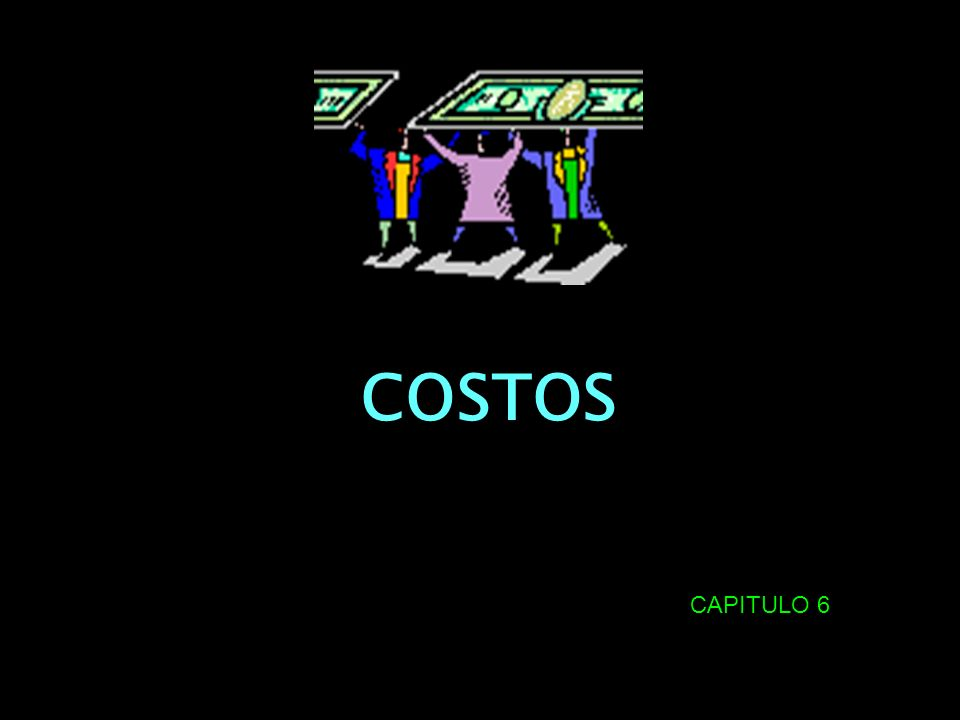 COSTOS CAPITULO 6
