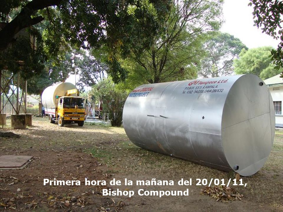 Primera hora de la mañana del 20/01/11, Bishop Compound