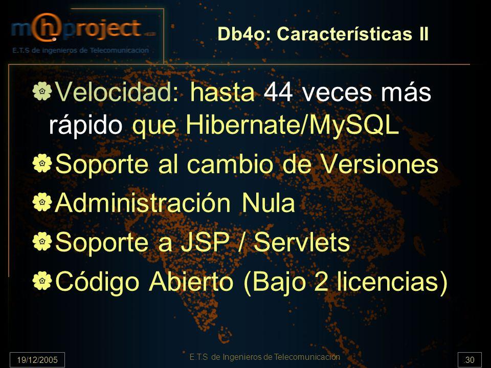 Db4o: Características II
