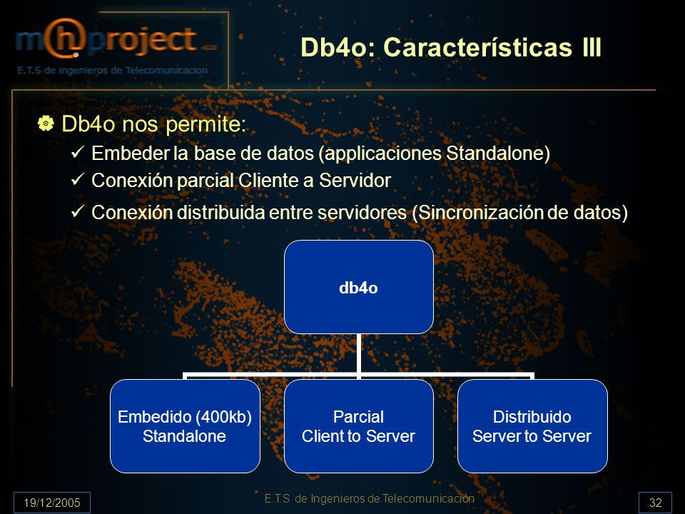 Db4o: Características III