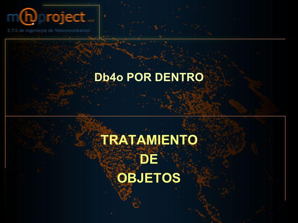TRATAMIENTO DE OBJETOS